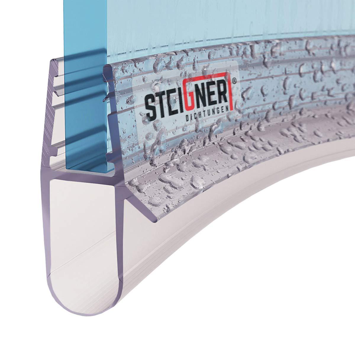 1/pi/èce steigner uk17/Joint de douche pr/é-courb/és 80/cm 5//6//7//8/mm 51516389