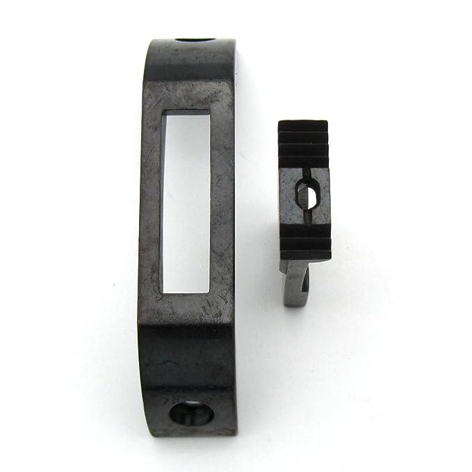 KUNPENG - 1 conjunto Placa de aguja y máquina de coser diente ajuste para Seiko 8B Modelo antiguo y LCW-8BL Singer 153K clase: Amazon.es: Hogar