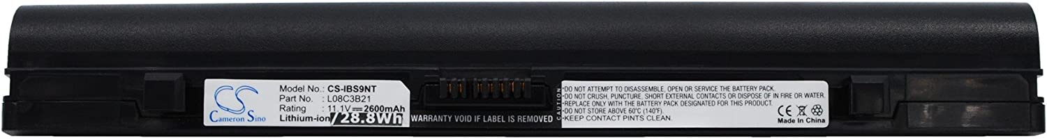 Replacement Battery for Lenovo ideapad ideapad S10 20015, ideapad S10, IdeaPad S10 4231, IdeaPad S10C, ideapad S10e, IdeaPad S10e 4068, ideapad S10e 4187, ideapad S10L, IdeaPad S12, IdeaPad S12 2959