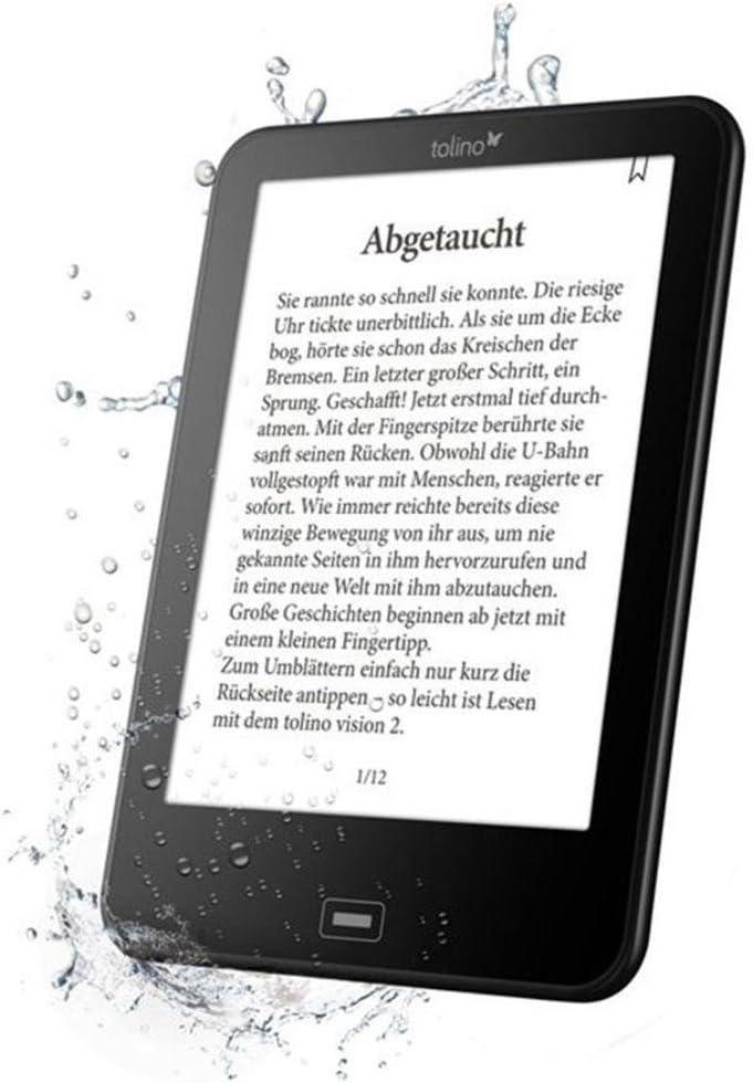 Tolino Vision 3 HD lectore de e-Book Pantalla táctil 4 GB WiFi ...