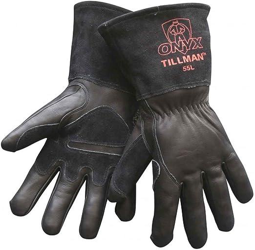 Tillman 50 Top Grain Split Cowhide Fleece Lined MIG Welding Gloves Medium