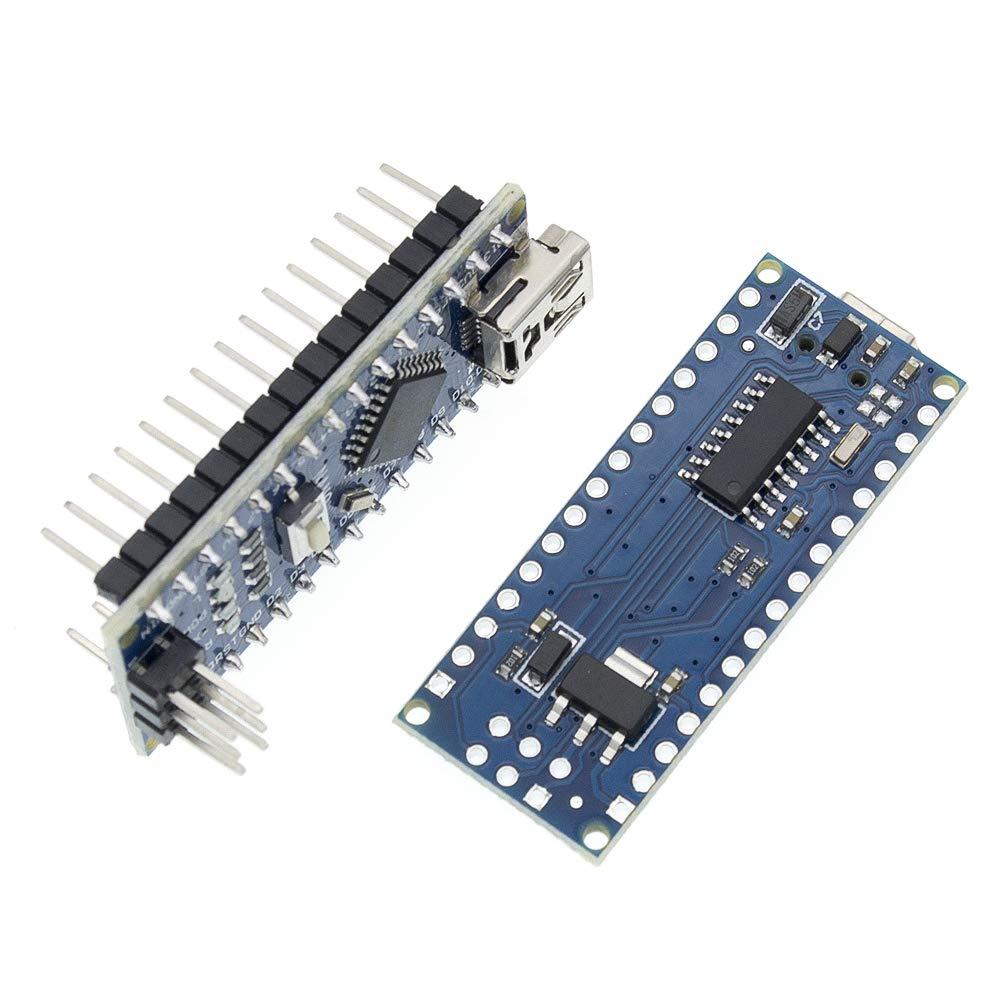 50pcs Nano 3.0+50pcs USB Cable ATmega328 Board CH340G for arduino