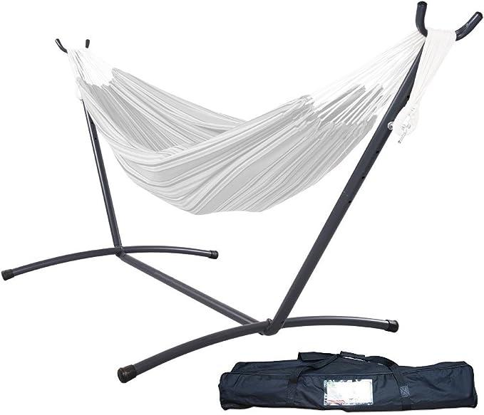 Boho 2 x 1,5 m Brasile/ño Macram/é Interior Swing lefeindgdi Hamaca doble Deluxe doble hamaca mecedora silla nueva hamaca grande para 2 personas hamaca de algod/ón al aire libre multipersona