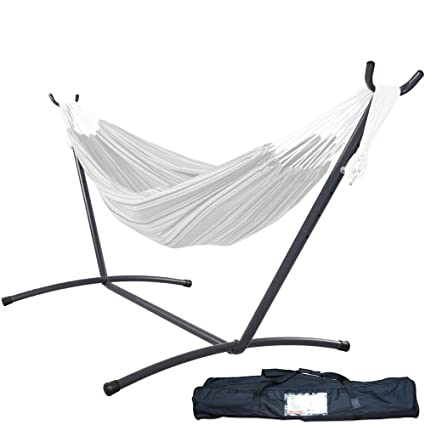 Genial Lazy Daze Hammocks 9 Feet Space Saving Steel Hammock Stand Portable Hammock  Stand With Carrying Bag
