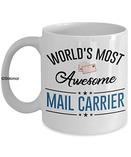 Best Mail Carrier Ceramic Coffee Mug Cup