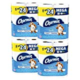 Charmin Ultra Soft Mega Roll Toilet Paper, 24 Count