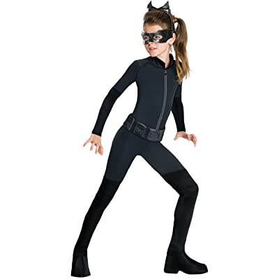 Batman Dark Knight Rises Child's Catwoman Costume - Large: Toys & Games