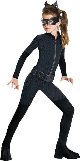 Amazon.com: Disfraz infantil de Gatubela de Batman: El ...