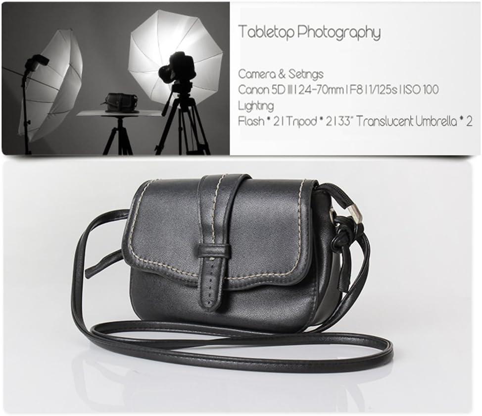 Lightdow 2pcs 33//83cm Photo Studio Reflective Soft Light Translucent Umbrella Reflector White Model Number: LD-DP014