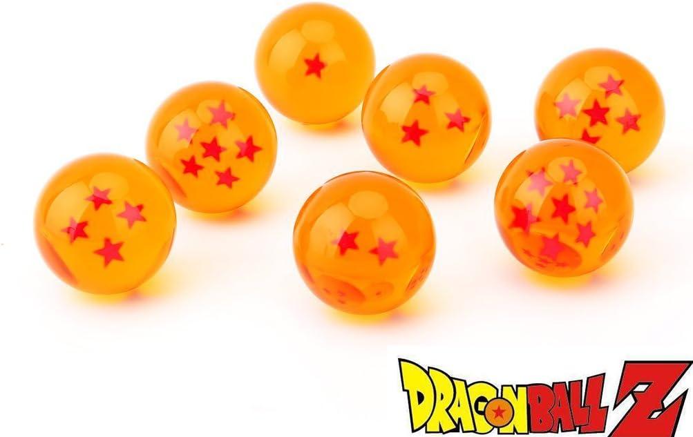Dragon Ball Z Crystal Ball Anime DragonBall Figure 7pc Goku Vegeta Gohan 09