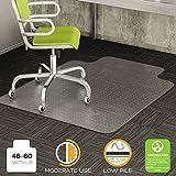 DEFCM13433F - Deflect-o DuraMat Chair Mat For Low Pile Carpet w/Lip