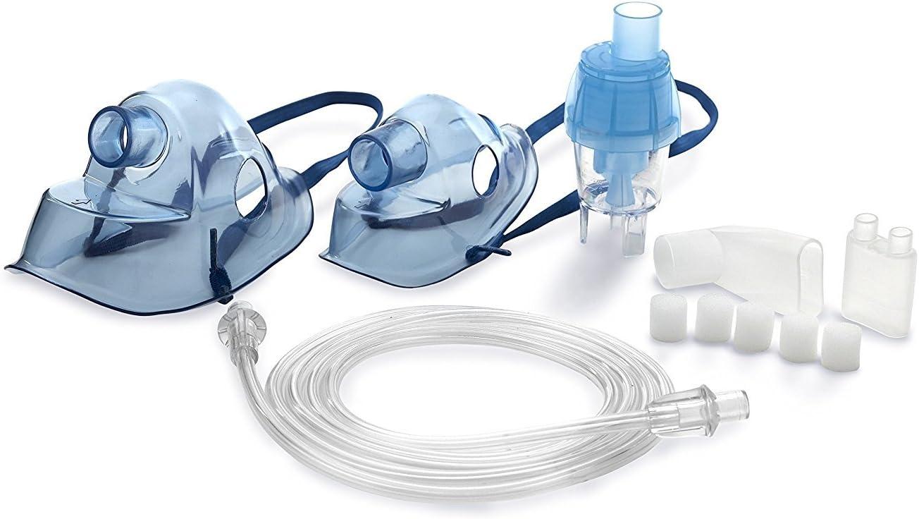 Accesorios para Omnibus BR-CN116 Nuevo inhalador Aparato para inhalación de medicamentos líquidos con compresor Nebulizador (Blanco)