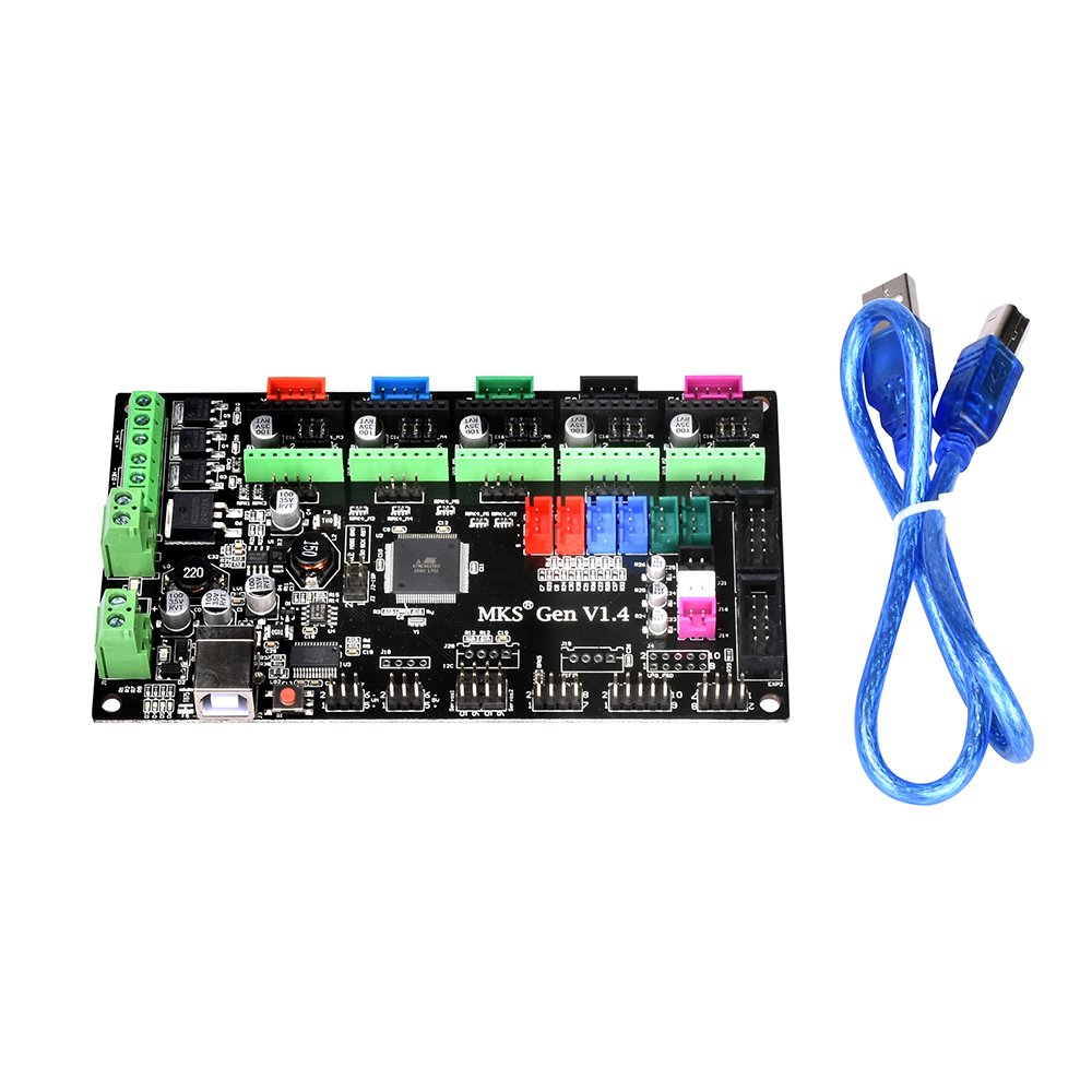 Witbot Mks Gen V14 Controller Board Integrated Ramps 14 And Mega 2560 Mainboard With Cable Line For Reprap 3d Printer Industrial Scientific