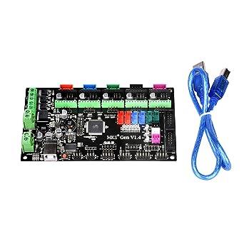Popprint MKS-Gen V1.4 Kontroller-Board, mit integriertem Ramps 1.4 on