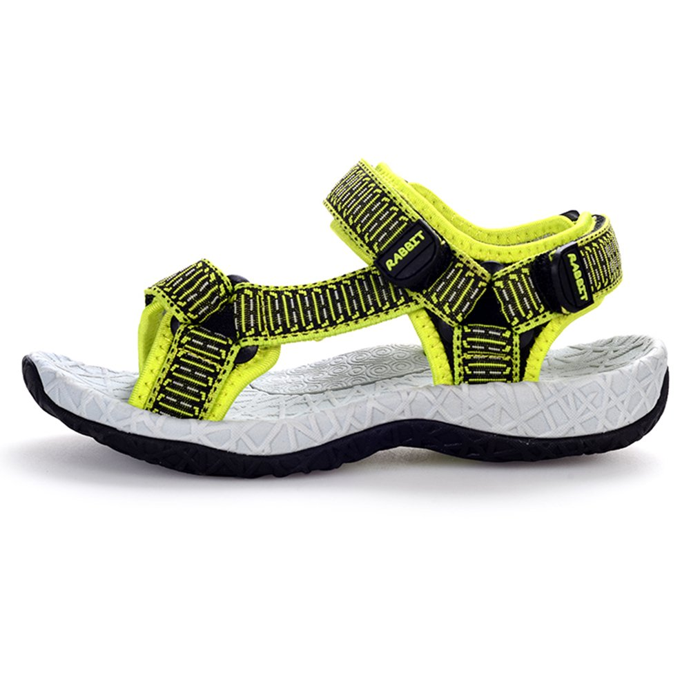 KKIDSS Boys Girls Sport Water Sandals Summer Athletic Kids Shoes Green 12 M US Little Kid