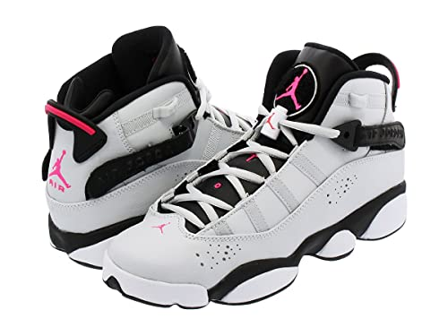 sports shoes f68cb 03d85  ナイキ  AIR JORDAN 6 RINGS GG WHITE PURE PLATINIUM PINK FLASH