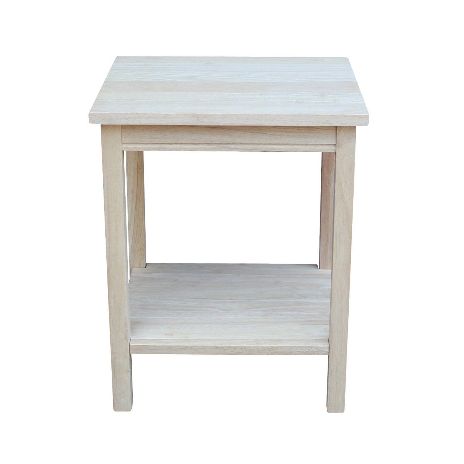 Amazoncom International Concepts OT041 Accent Table Unfinished