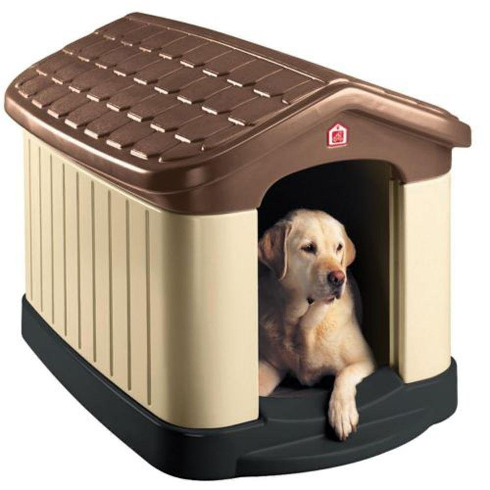 Cool Pet Zone 32 in. x 45 in. x 32.5 in. Tuff-n-Rugged Dog House