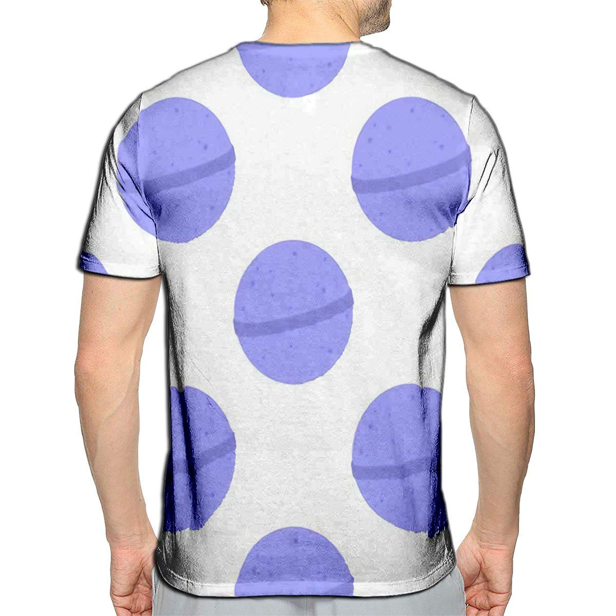 3D Printed T-Shirts Bath Bomb Cartoon Easy to Change Color Short Sleeve Tops Tee