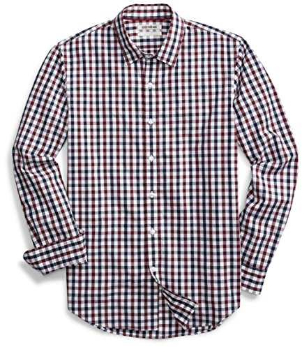 Goodthreads Men's Standard-Fit Long-Sleeve Checked Shirt