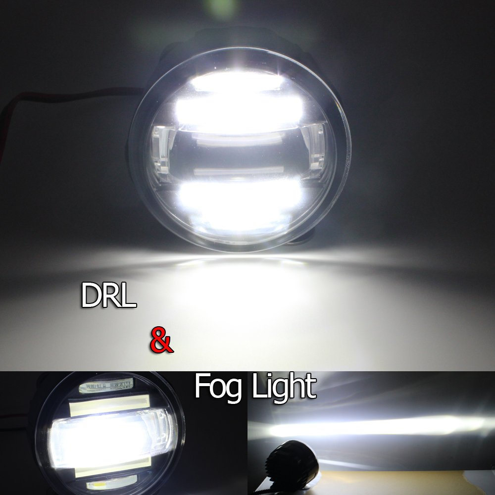 Xy Auto Dedicated Fog Lamp Built In Daytime Running Light With Nissan Navara D40 Wiring Diagram Len Projector For Models Car Motorbike