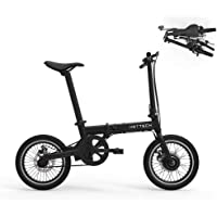 Hottech Electric Folding Bike Car Portable 5 PAS Lion Battery 16 inch Light Weight Brushless Motor