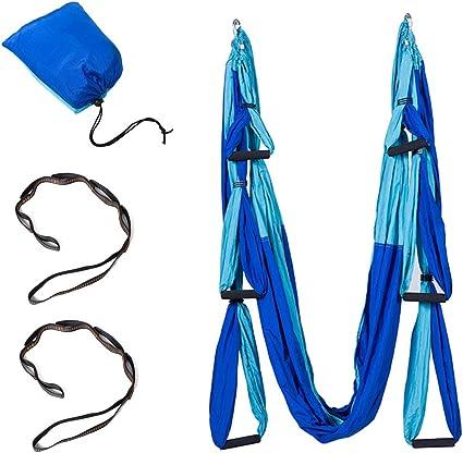 HI SUYI Fliegeryoga Aerial Flying air Yoga pilate Karaft Training vertikal Schaukel Akrobatik Tuch Stoffe Zubeh/ör Hammock