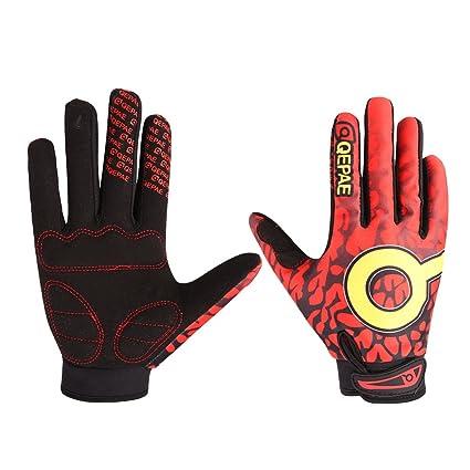 Amazon Com Kanical Motorcycle Mountain Bike Riding Gloves Full