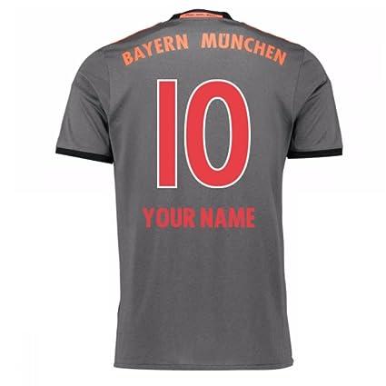 750fa38ebc55d 2016 - 2017 Bayern de Munich playera Away de Adidas (para niños ...