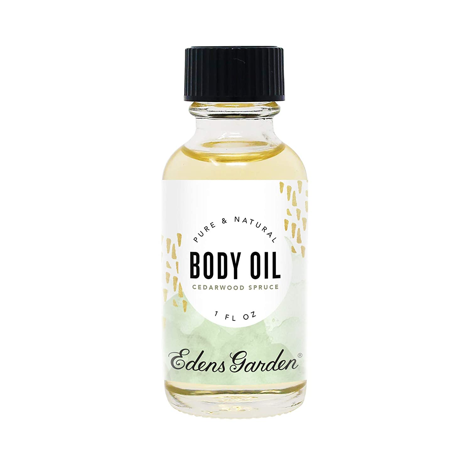 Edens Garden Cedarwood Spruce Aromatherapy Body Oil (Made With Pure Essential Oils & Vitamin E - Great For Massage & Daily Skin Care), 1 oz