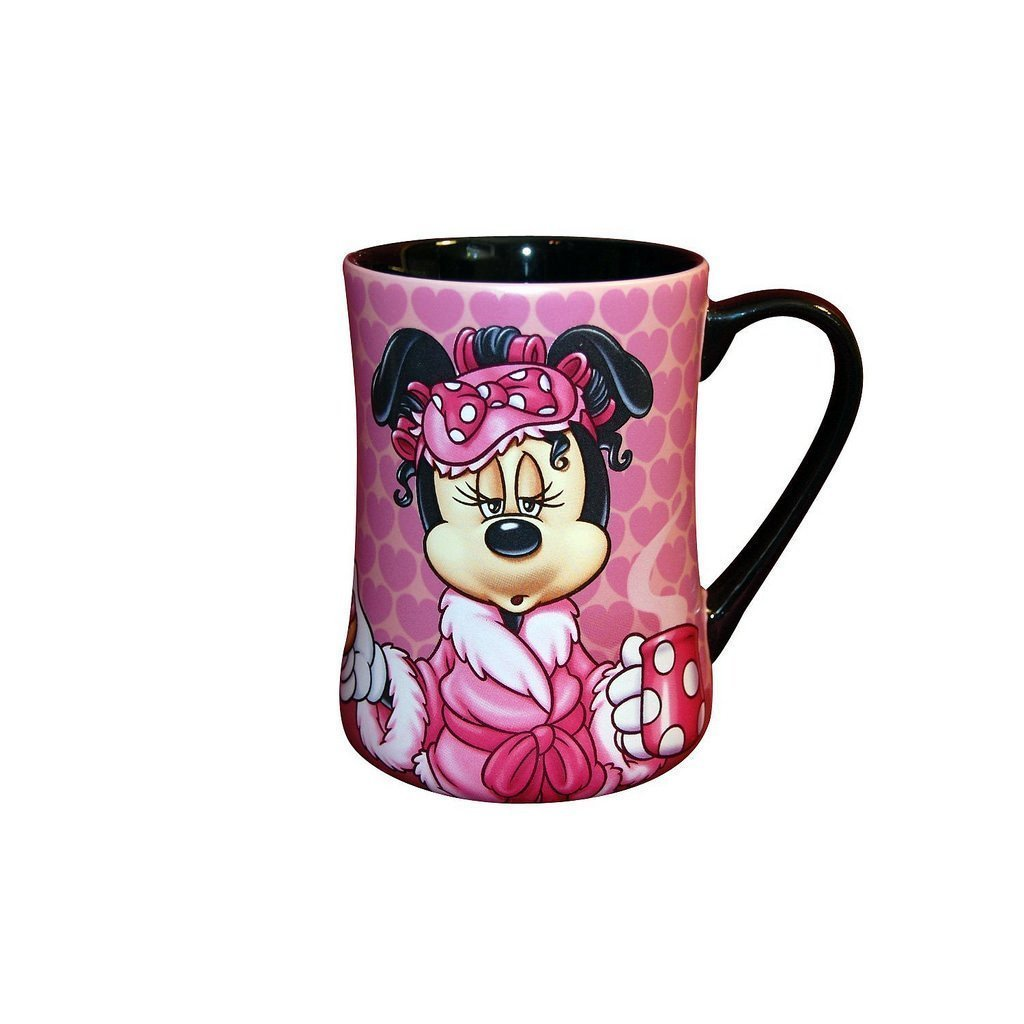 Disney Parks Exclusive Minnie Mouse Mornings Aren't Pretty Coffee Mug
