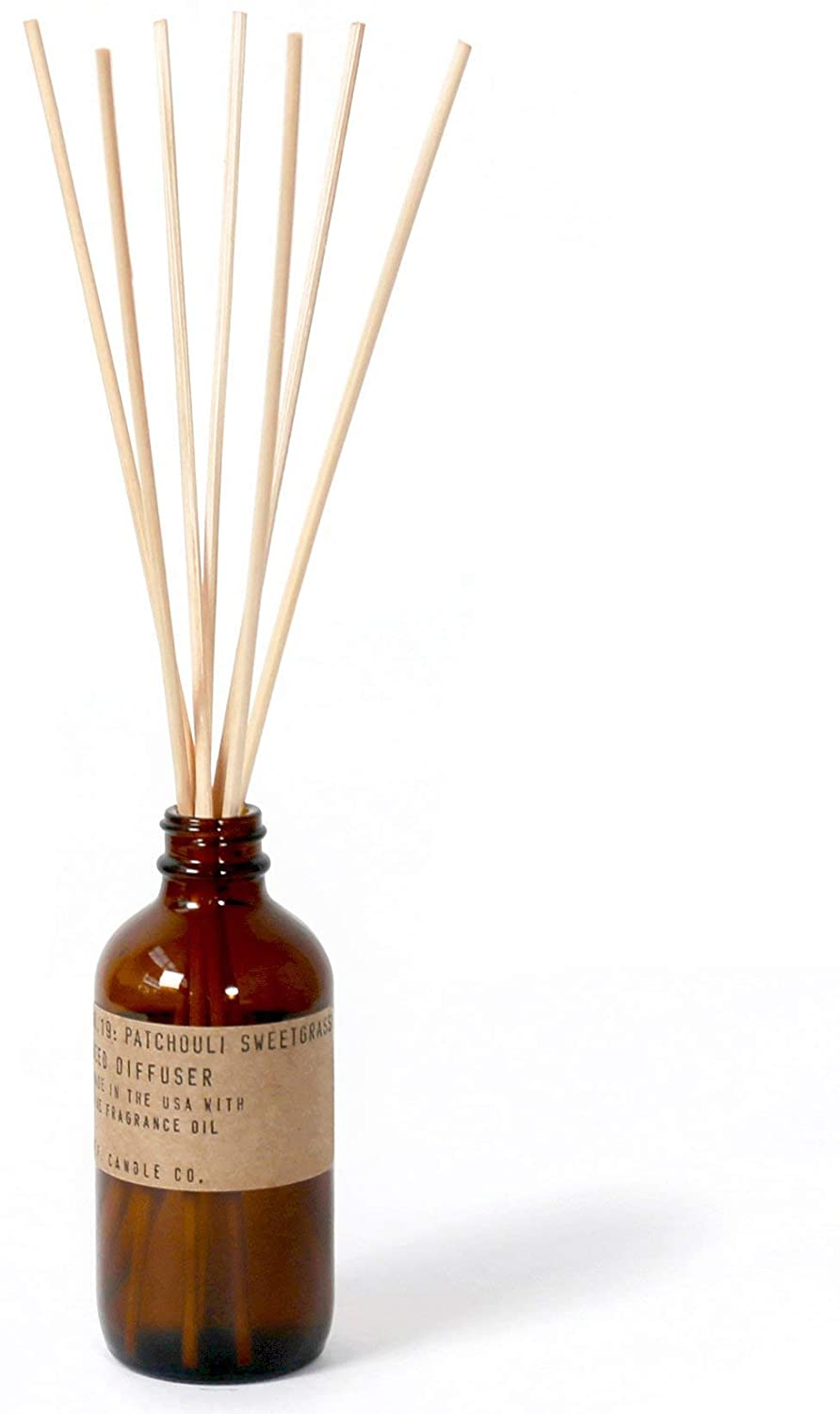 p.f. Candle Co。 – No。19 : Patchouli Sweetgrass Diffuser   B0771XYH27