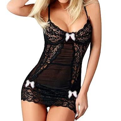 fournisseur officiel dernier style de 2019 guetter DAY8 Lingerie Sexy Erotique Femme Coquine Ouverte Grande Taille Dentelle  Nuisette Femme Pas Cher Mini Robe Femme Slim Pyjama Vêtement de Nuit Femme  ...