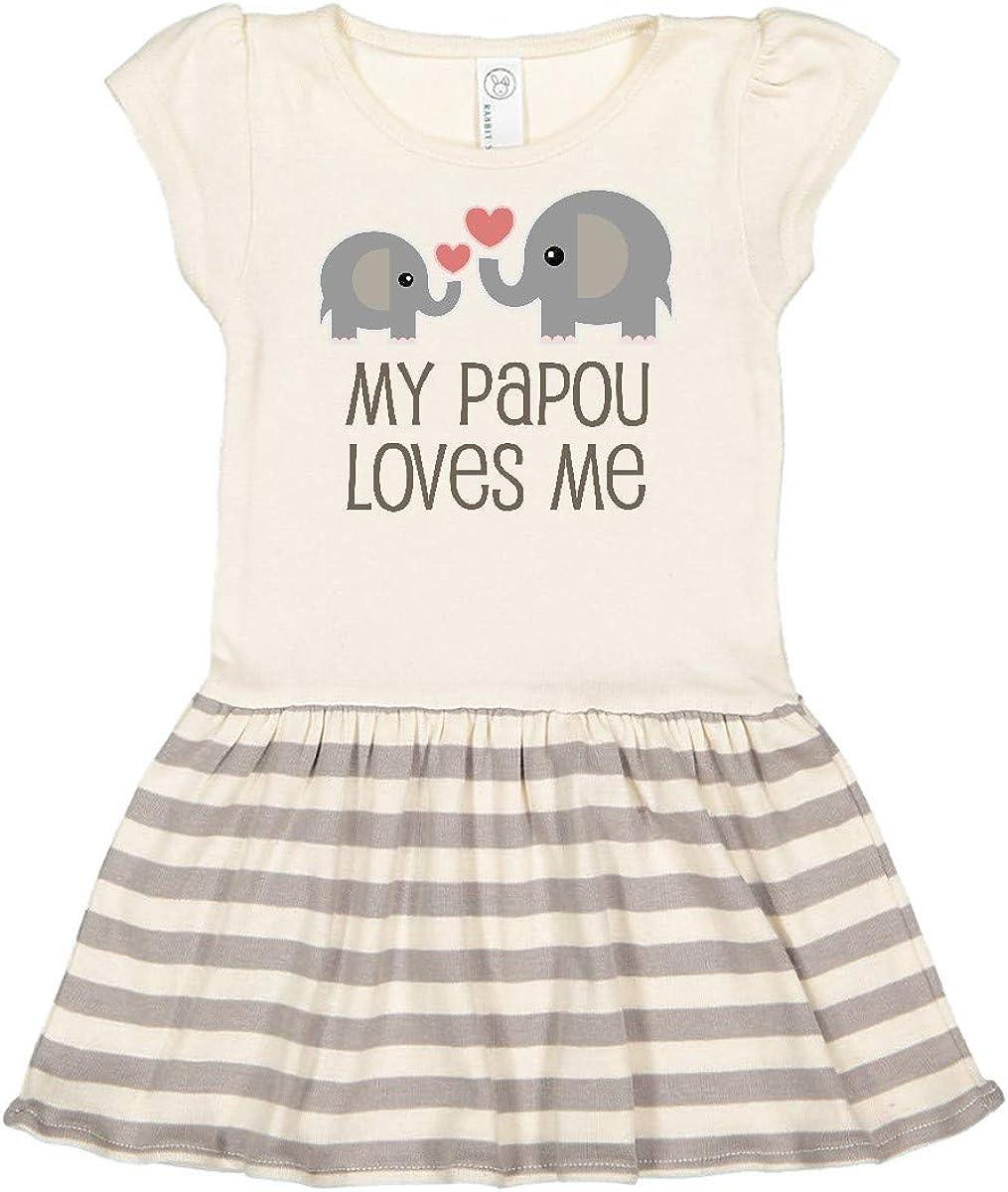 inktastic My Papou Loves Me Gift Toddler T-Shirt