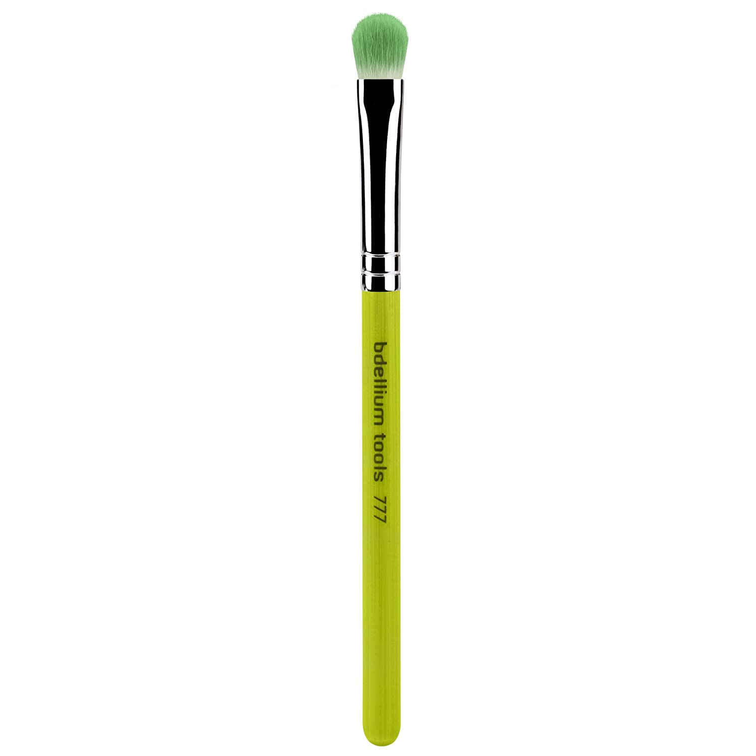 Bdellium Tools Professional Makeup Brush Green Bambu Series Shadow 777, 1 Count BD-BAMBU-777
