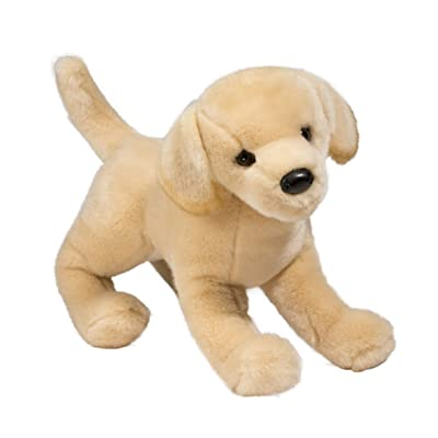 Douglas Cuddle Toys Mandy Yellow Lab: Toys & Games