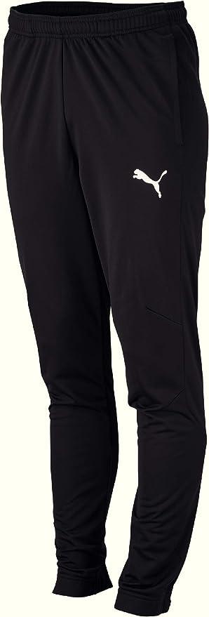 PUMA Men's Liga Sideline Poly Pant Core Sweatpants,Puma