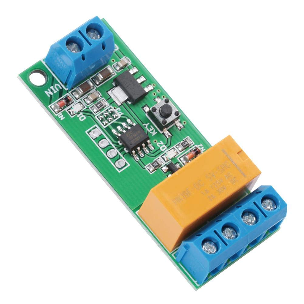 Zerone DC 5//6//9//12V Motor Reverse Polarity Module Time Adjustable Delay Relay 2A Drive Current