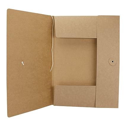 Din A 3 NEU 10er-Pack Sammelmappe aus Graukarton