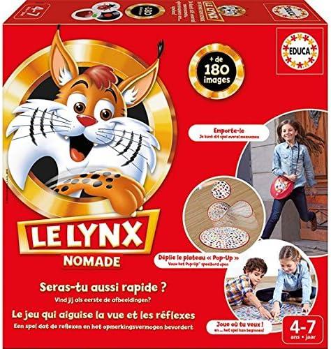 Educa - Juego de Mesa Le Lynx Nomade (16248) (Importado): Amazon ...