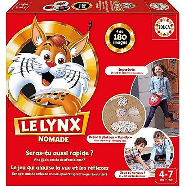 Educa - Juego de Mesa Le Lynx Nomade (16248) (Importado): Amazon.es: Juguetes y juegos