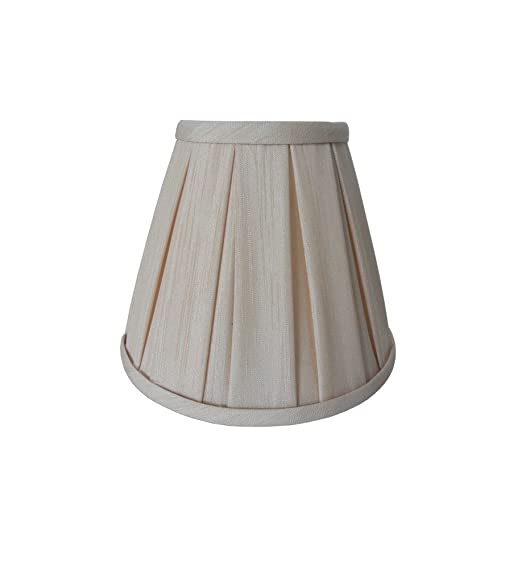 Enya 55 cream box pleat clip on lampshade amazon lighting audiocablefo