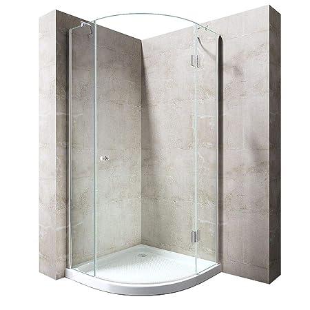 Durovin Bathrooms Quadrant Frameless Shower Enclosure