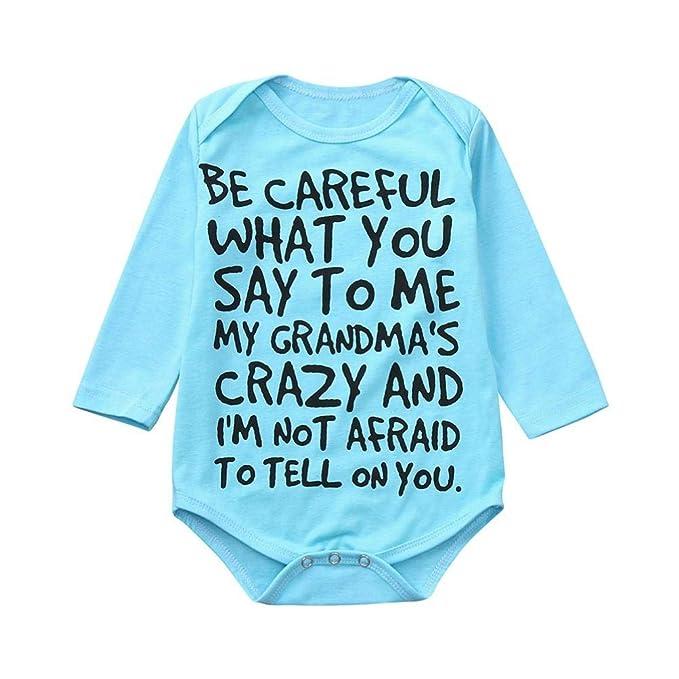 Halloween Baby Vest Be Afraid Boy Girl Short Sleeved Bodysuit Gift Present