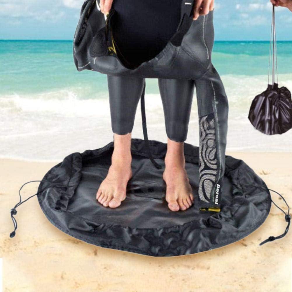 Coyan Wetsuit Changing Mat Bag,Waterproof Dry-Bag,Durable Wet Bag with Especially Designed Handles /& Hidden Pocket for Surfer