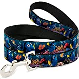 Buckle-Down Dory Poses & Friends Under The Sea Dog Leash, 6