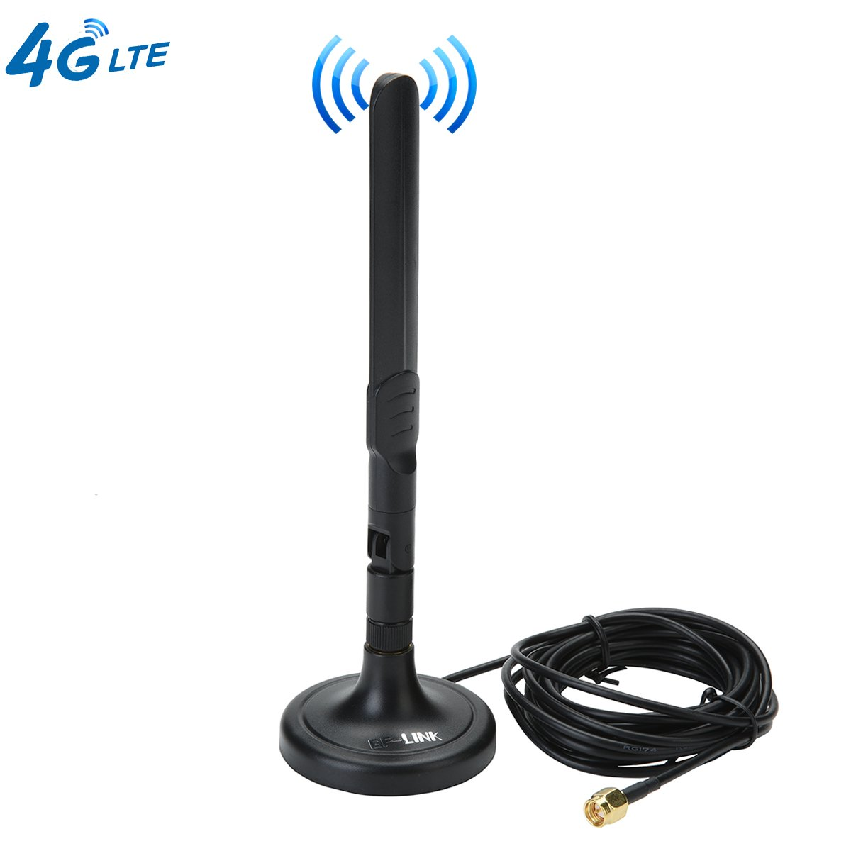 Magnet Antenna 3G 4G LTE 3dBi SMA Male Antennas with Magnetic Sucker for Mobile Phone Signal Enhancer Repeater
