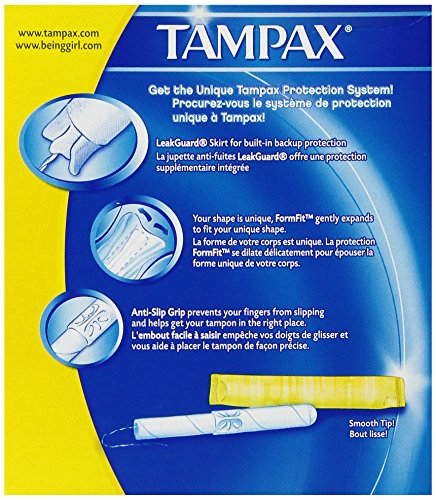 Tampax Regular Flushable 20 ct by Tampax (Image #4)