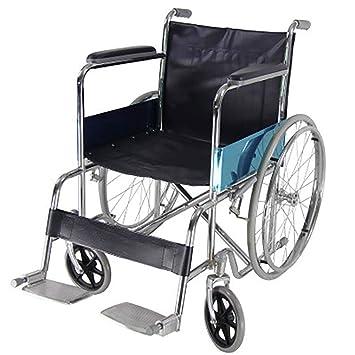 DPPAN Drive Medical Transport Silla de ruedas Plegable ligero, tubo de aleación de aluminio resistente