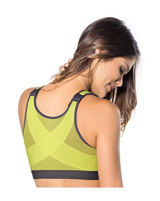 Leonisa Women s Posture Corrector Wireless Back Support Front Closure Bra   Amazon.ca  Clothing   Accessories 624ae5faa